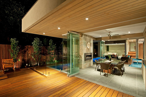 Transition Gorgeous Contemporary Home Inspired By The Summer