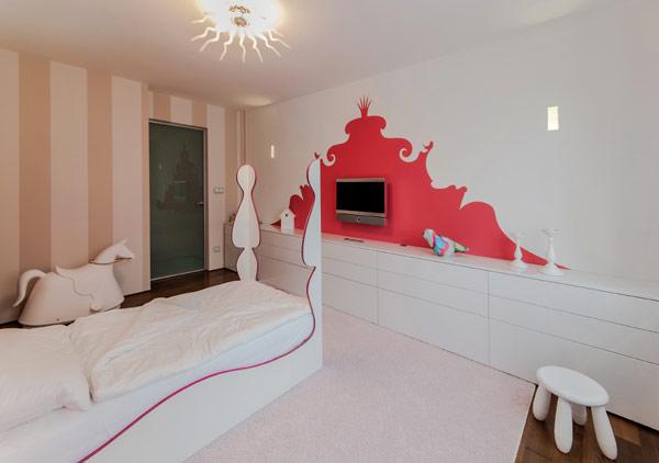 modern girl boy room 16 Inspiring Bedrooms for Boy and Girl in Modern Slovakian Crib