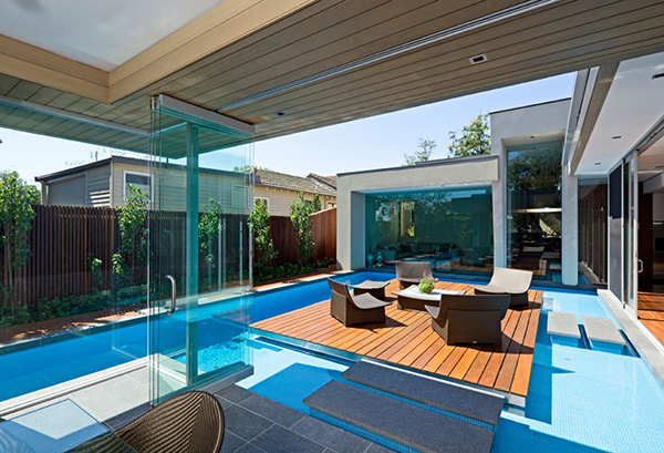 Terrace 1 Gorgeous Contemporary Home Inspired By The Summer