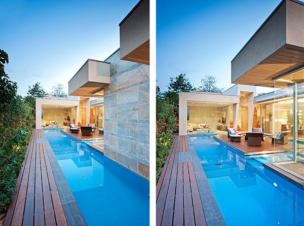 Side Views Terrace Gorgeous Contemporary Home Inspired By The Summer