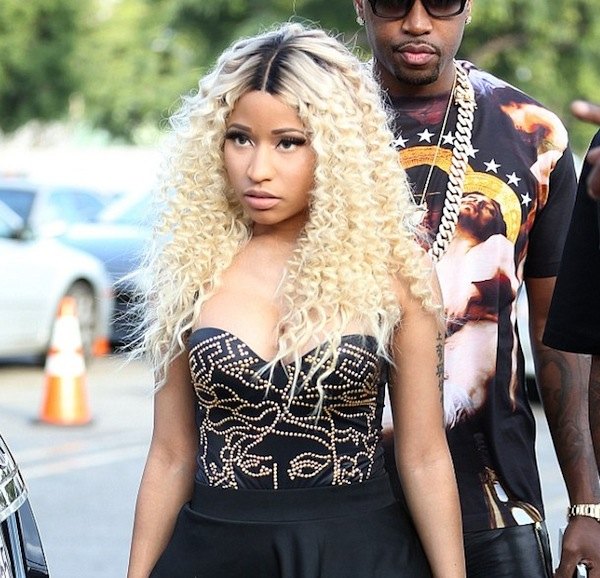 Nicki Minaj love more video shoot