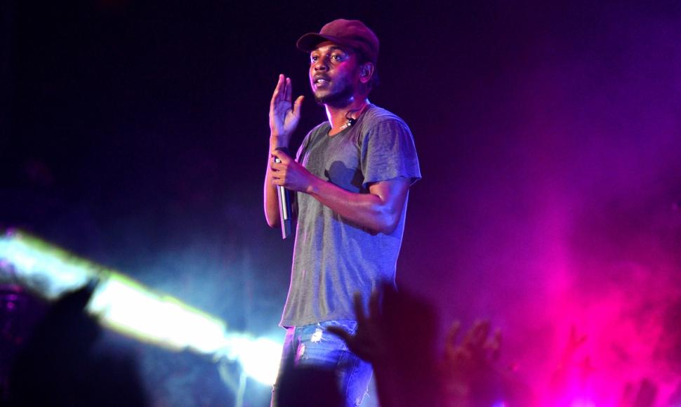 Kendrick Lamar, seen performing Sept. 13 in Atlanta, surprised fans with the release of his second album 'To Pimp a Butterfly,' one week early.