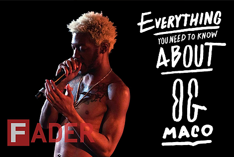 "OG Maco Talks Disdain Of ""U Guessed It"",""It G Ma"" and More"