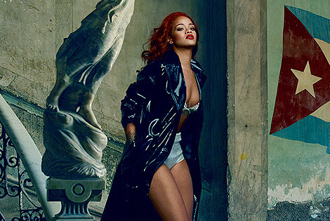 Rihanna Covers Vanity Fair's November Issue and Gets Real About Chris Brown: