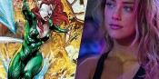 Amber Heard Confirms Justice League Casting and Tries on Her Costume